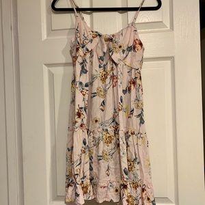 Floral knot dress